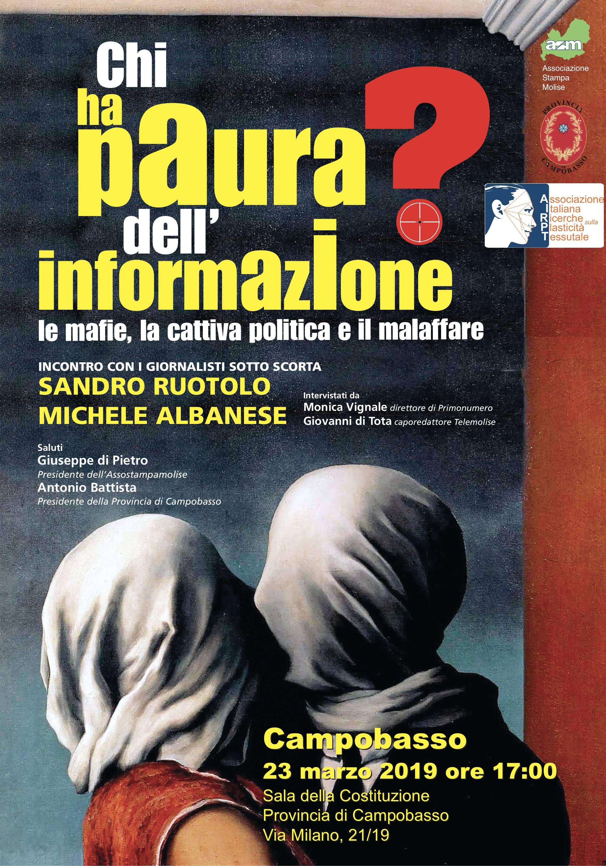 La Mafia, le querele e i fondi cancellati: l'informazione sotto attacco secondo Sandro Ruotolo e Michele Albanese.