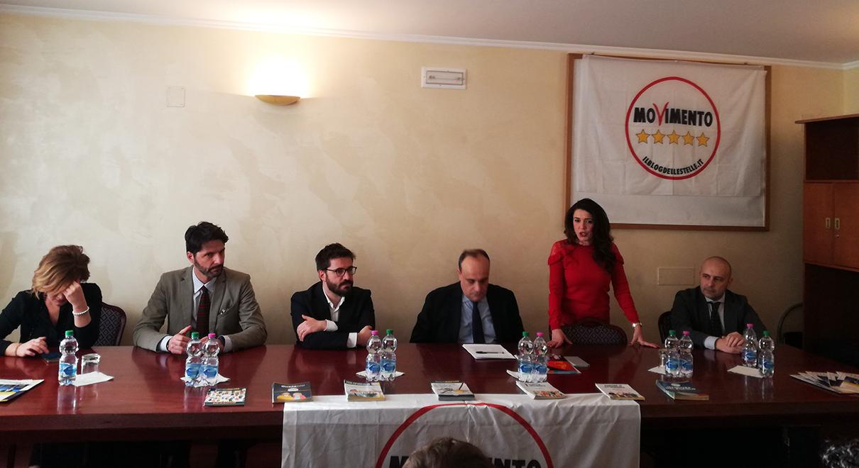 Isernia: il Ministro Bonisoli ha incontrato privatamente attivisti e portavoce del Movimento Cinque Stelle.