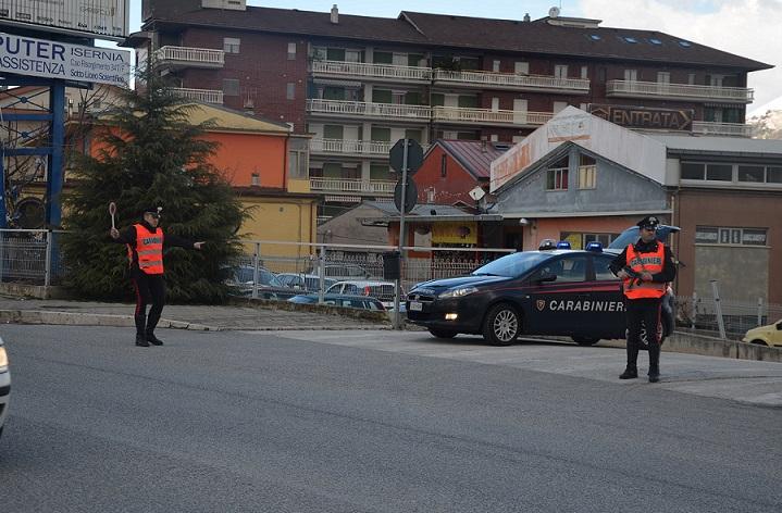 Isernia: Evade dai domiciliari e aggredisce i Carabinieri. Arrestata nigeriana