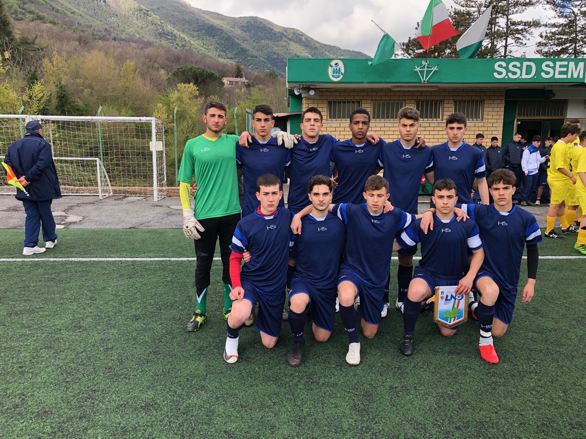 Torneo delle regioni, due pareggi per allievi e giovanissimi contro la Puglia.