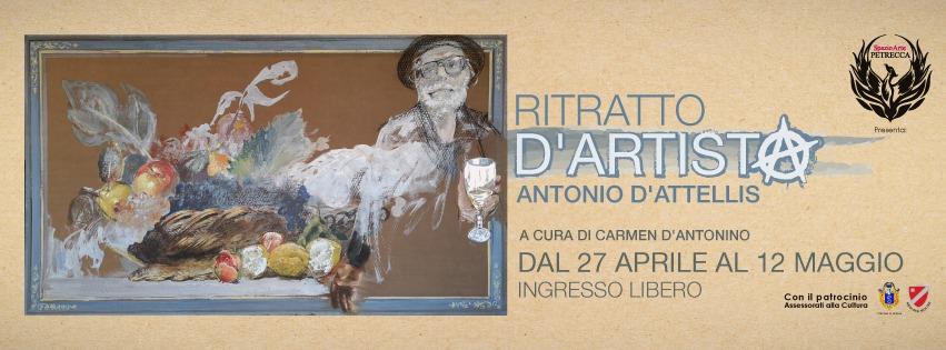 """Isernia: presso lo spazio d'Arte Petrecca la mostra antologica """"Ritratto d'Artista"""" di Antonio D'Attellis."""