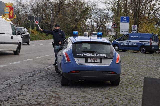 Polizia di Stato – Isernia: Emessi 3 Fogli di Via Obbligatori con DIVIETO DI RITORNO.