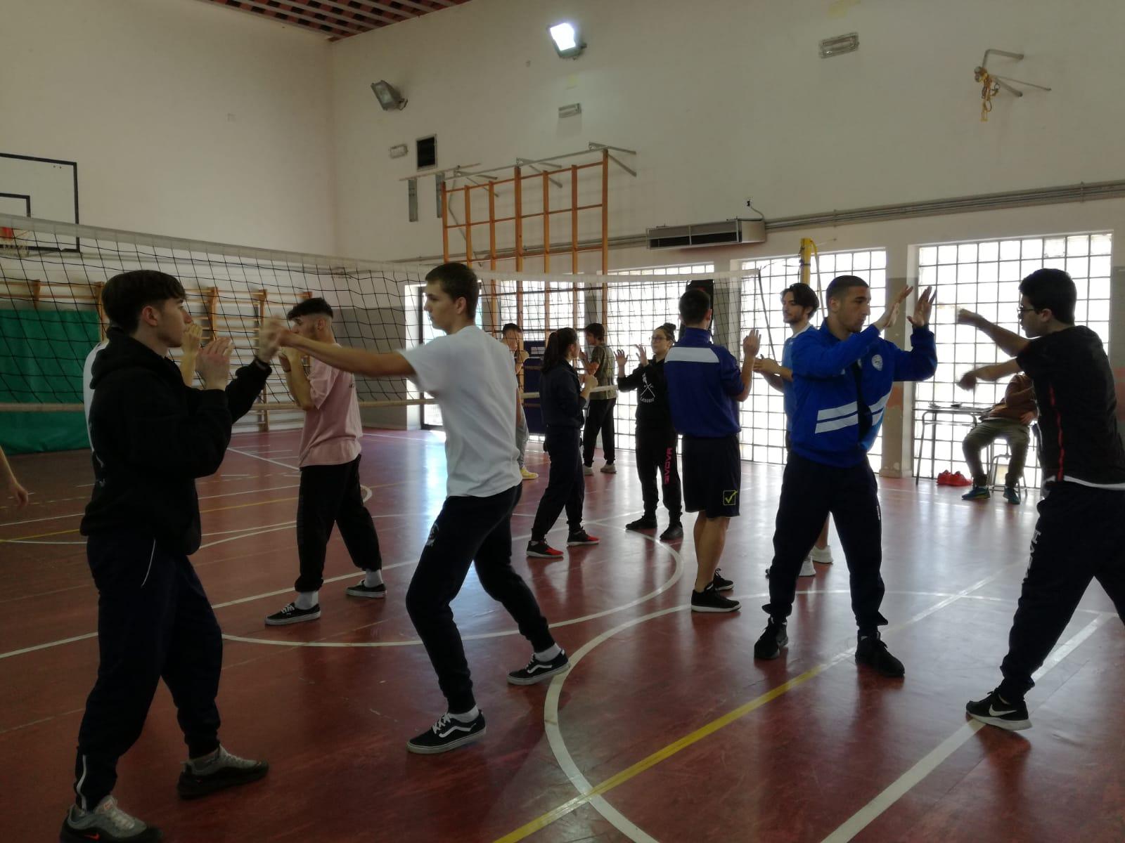 Campobasso: Wushu, all'I.I.S.S. Alfano approva la nuova disciplina sportiva.