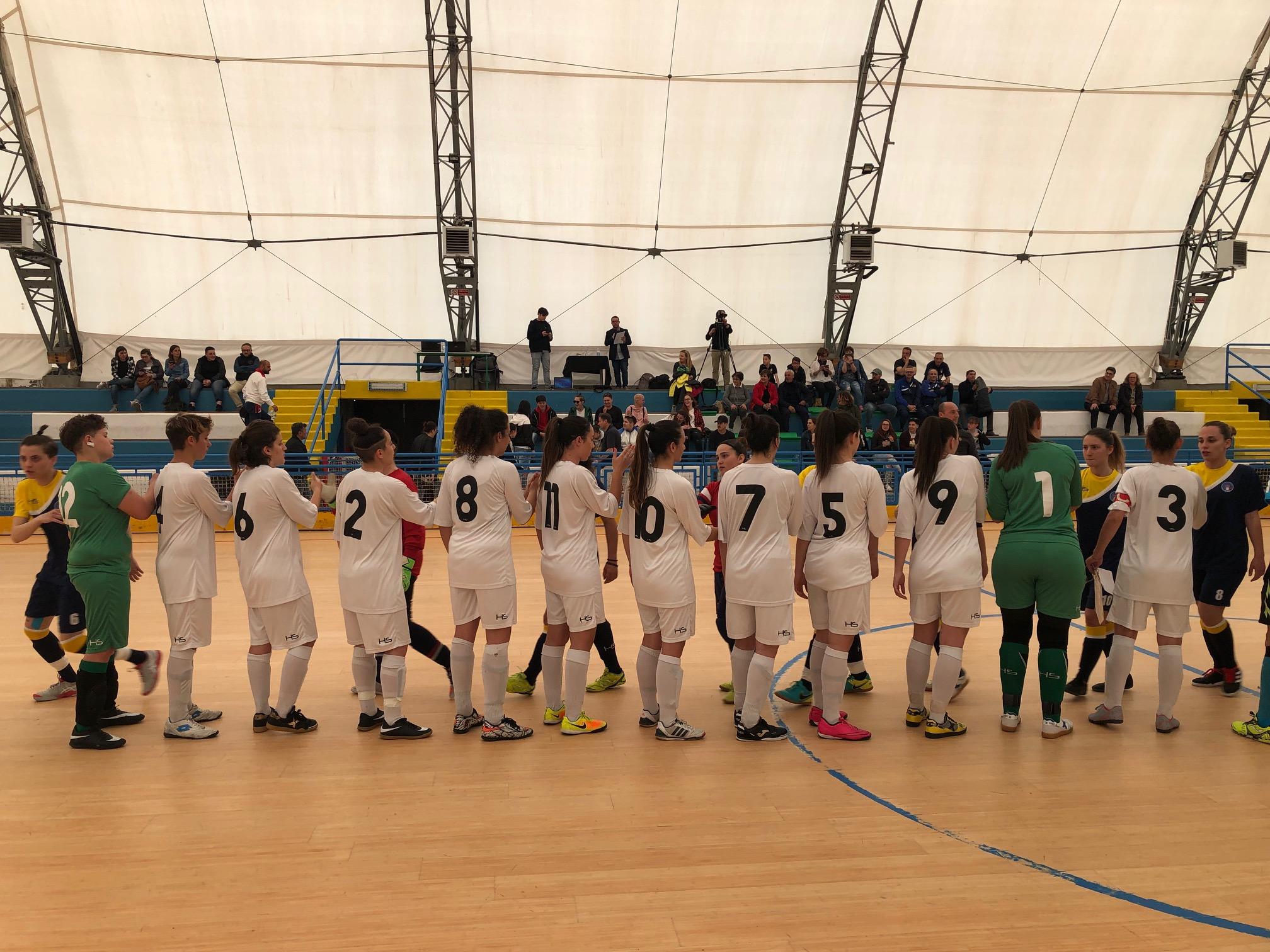Torneo delle Regioni di calcio a 5: a Matera esordio amaro anche per la formazione femminile di mister Pietrunti sconfitta 5 a 2 dalla Basilicata.