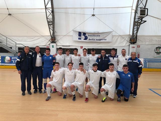 Calcio a 5: inizia alla grande il Molise juniores al torneo della Regioni di Materia. La formazione di mister Sanginario batte la Calabria per 5 A 3.