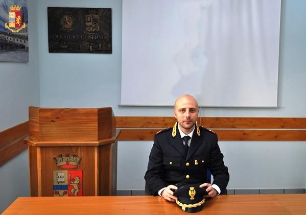 Isernia: Lorenzo Cariola è il nuovo dirigente della Squadra Mobile della Questura.