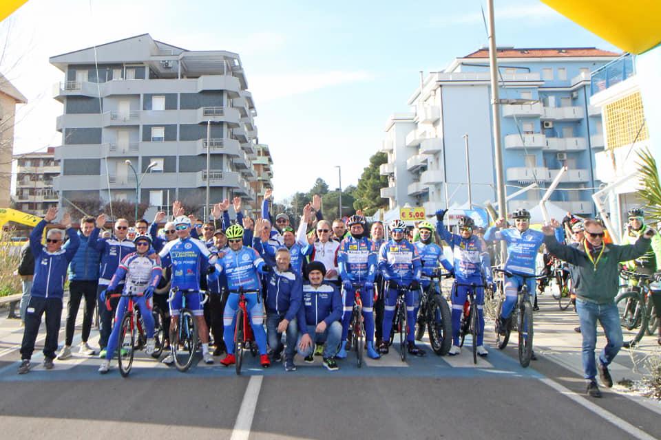 Ciclismo: Il Trofeo Porto Turistico Marina Sveva Montenero di cicloturismo in rampa di lancio
