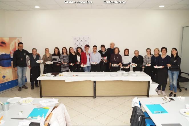 Food Design, grande successo per il concorso proposto da Confcommercio con gli archichef Francesca Di Palma e Mauro Inglese.
