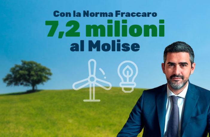 Norma Fraccaro in arrivo sette milioni di euro per il Molise.