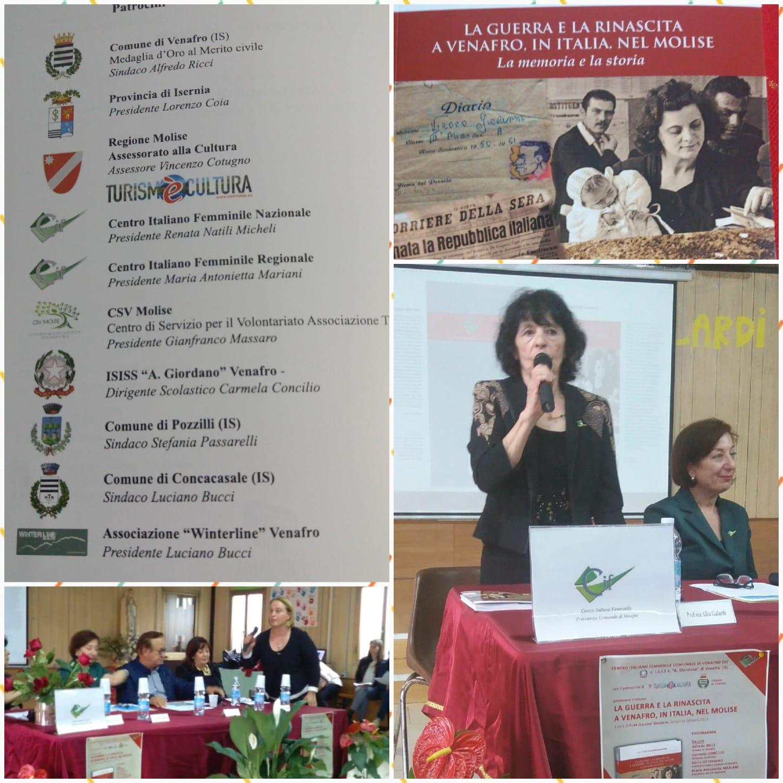 'La guerra e la rinascita a Venafro, in Italia, nel Molise',  il libro di Alba Galardi Giannini conquista gli studenti