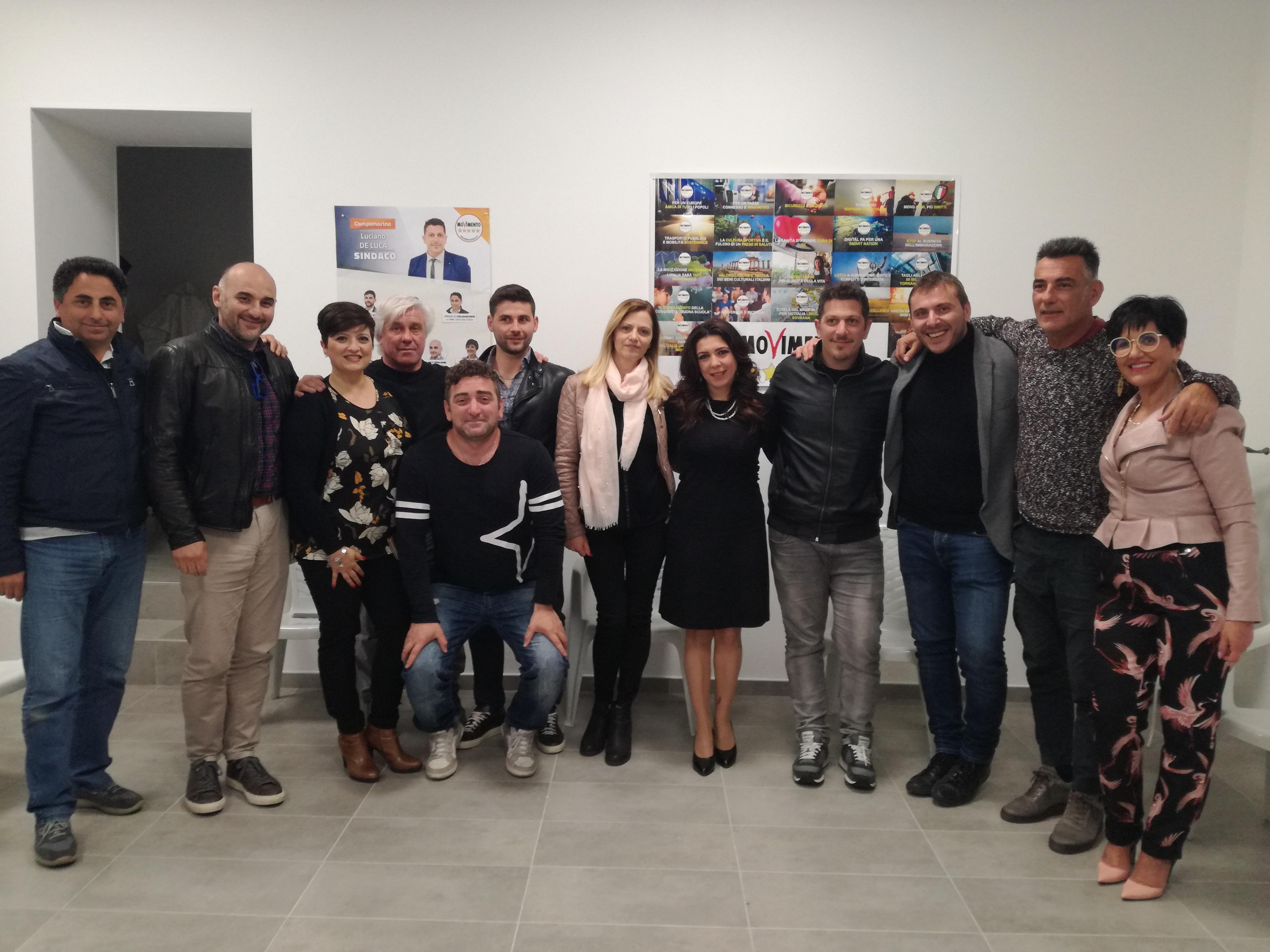 Campomarino: Testamento e Primiani incontrano il candidato sindaco De Luca e le associazioni.