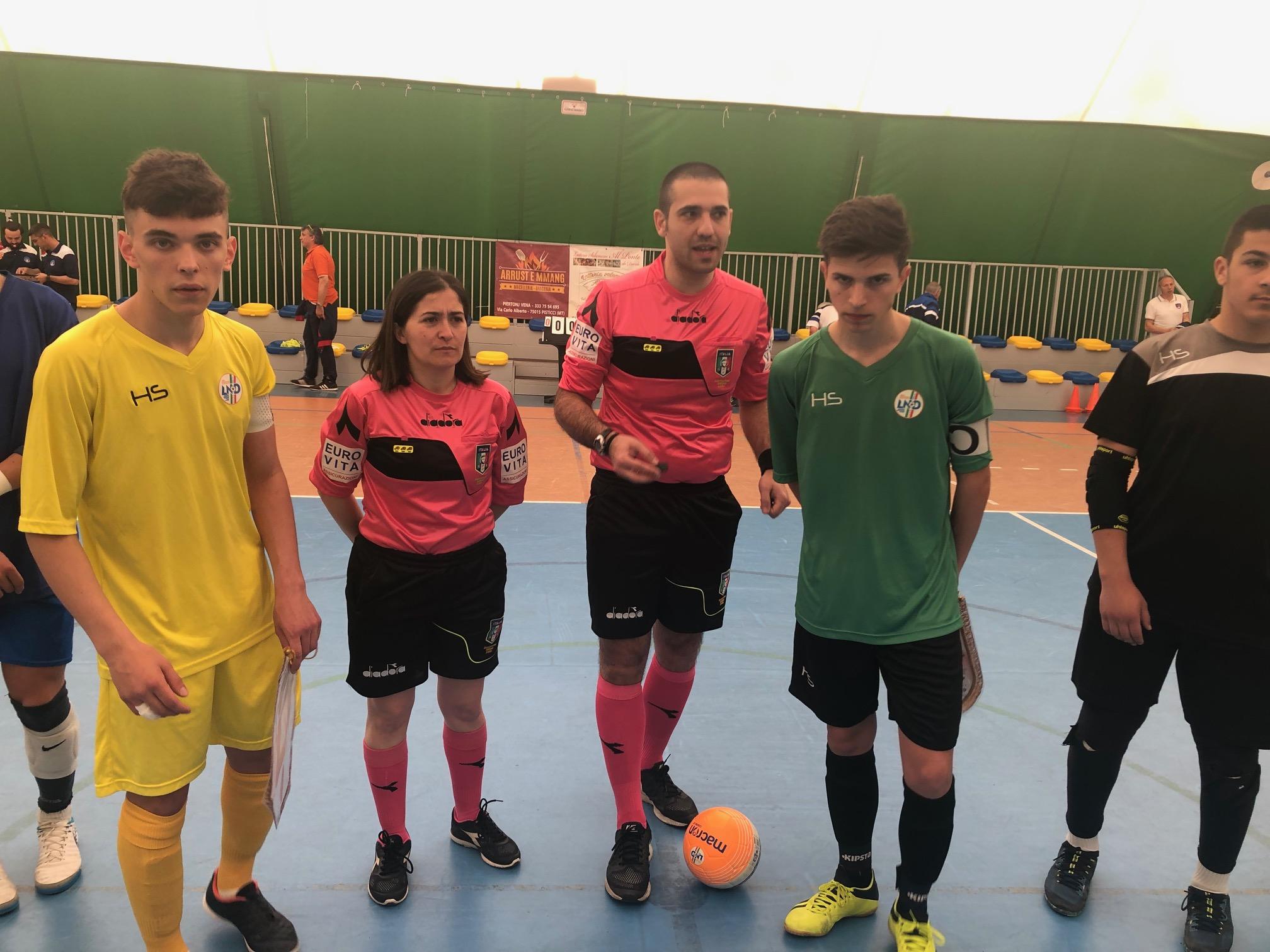 Torneo della Regioni di calcio a 5: Il Molise U17  sconfitto dal Piemonte – Valle d'Aosta e fuori dalla competizione