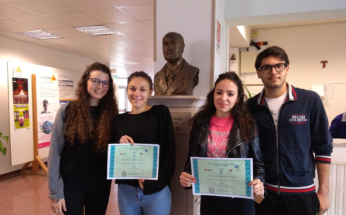 Ancora un successo per l'I.I.S.S. Alfano al debate Day