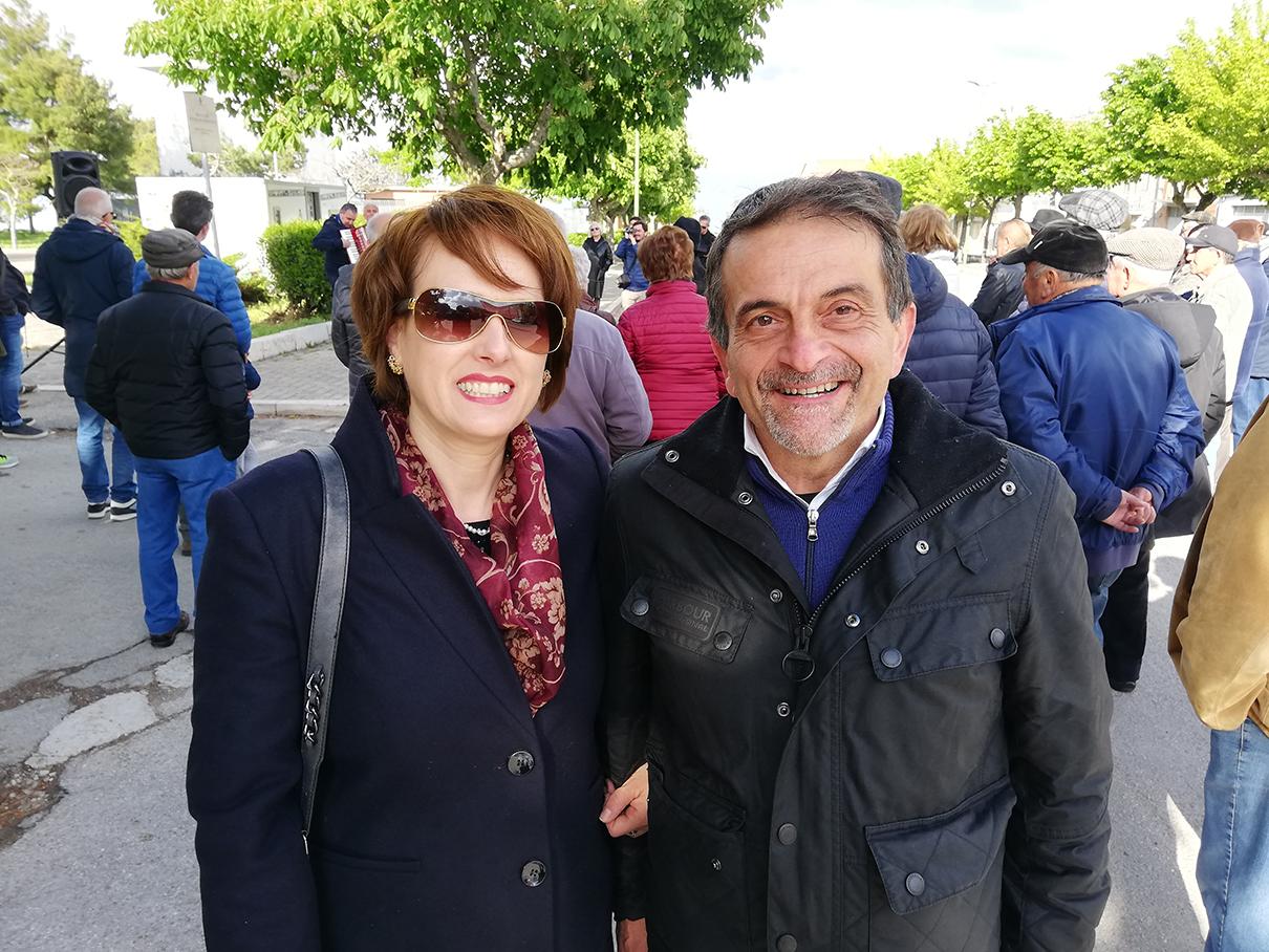 """Aida Romagnuolo: A """"Zio Pietro Mastrangelo"""" il giusto riconoscimento. Con me anche i tre ex sindaci Florio, Iantomasi e Marino."""