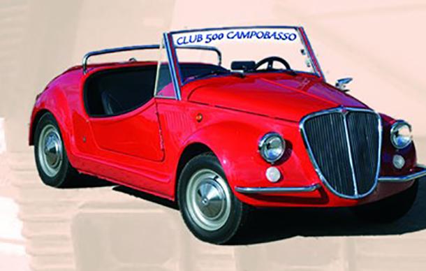 Campobasso: torna a fine giugno l'appuntamento con il raduno delle Fiat Cinquecento.