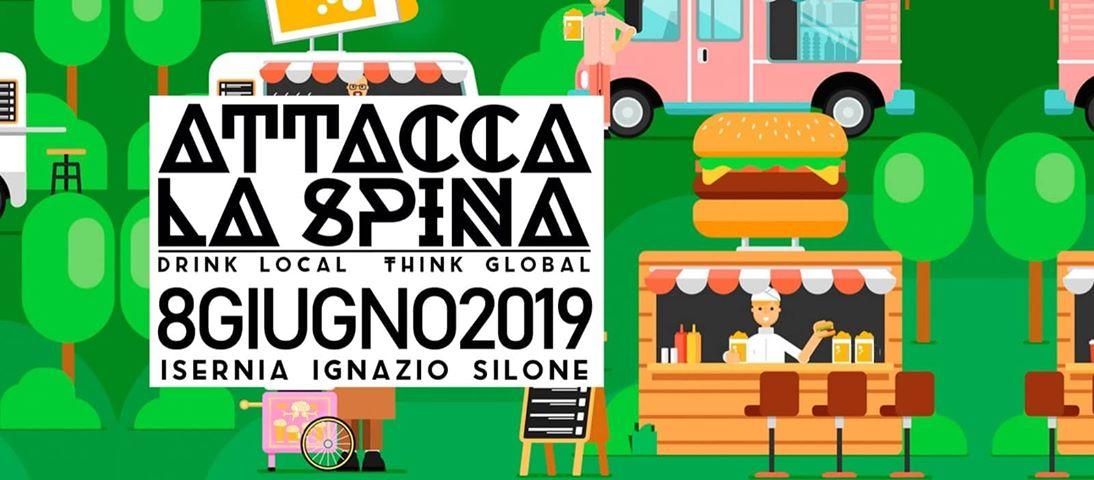 Isernia: è tutto pronto per l'edizione 2019 di Attacca La Spina. Birrifici artigianali del Molise protagonisti.