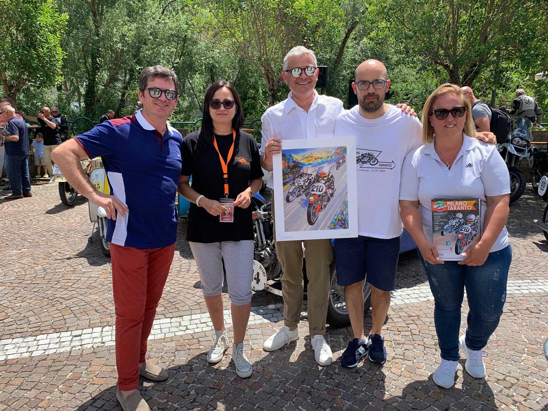11 luglio, la quarta tappa da Tivoli a San Giovanni Rotondo. Il resoconto del comitato.
