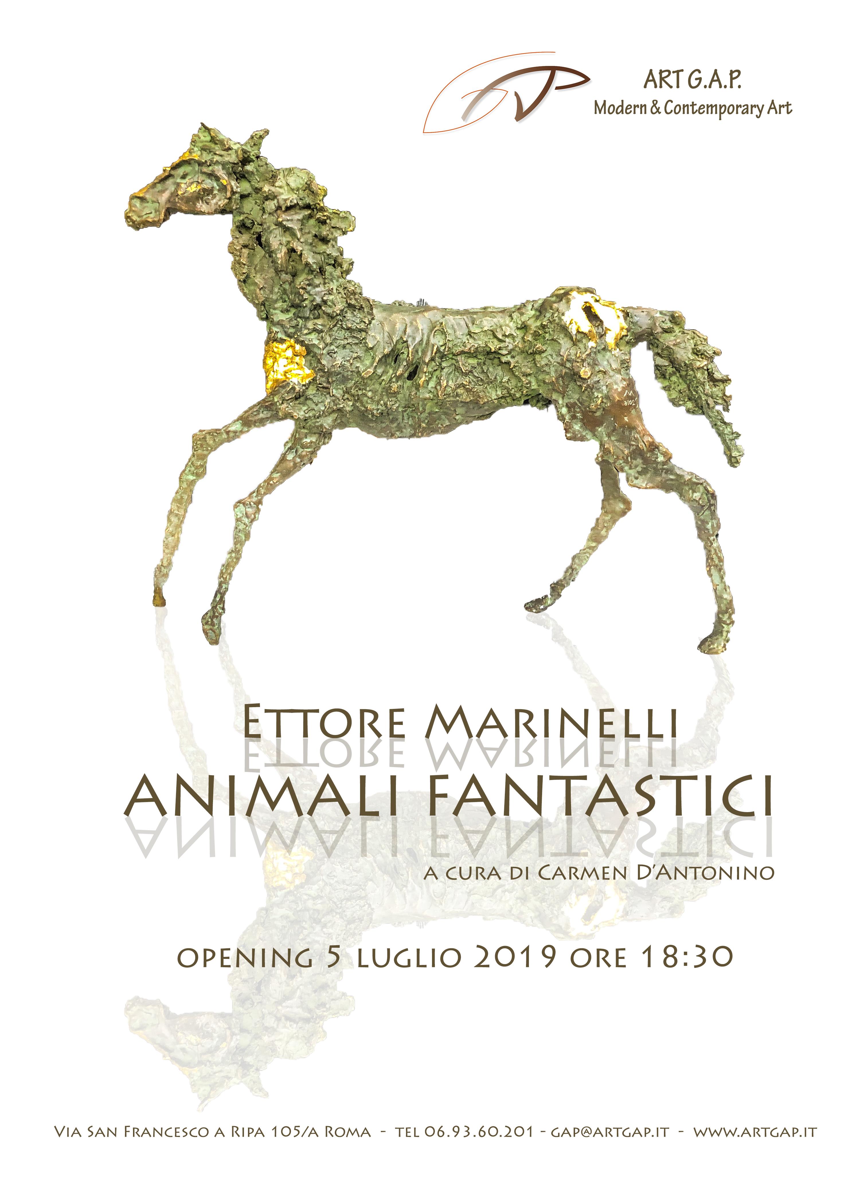 Agnone: Animali fantastici, ad Agnone l'esposizione delle opere di Ettore Marinelli.