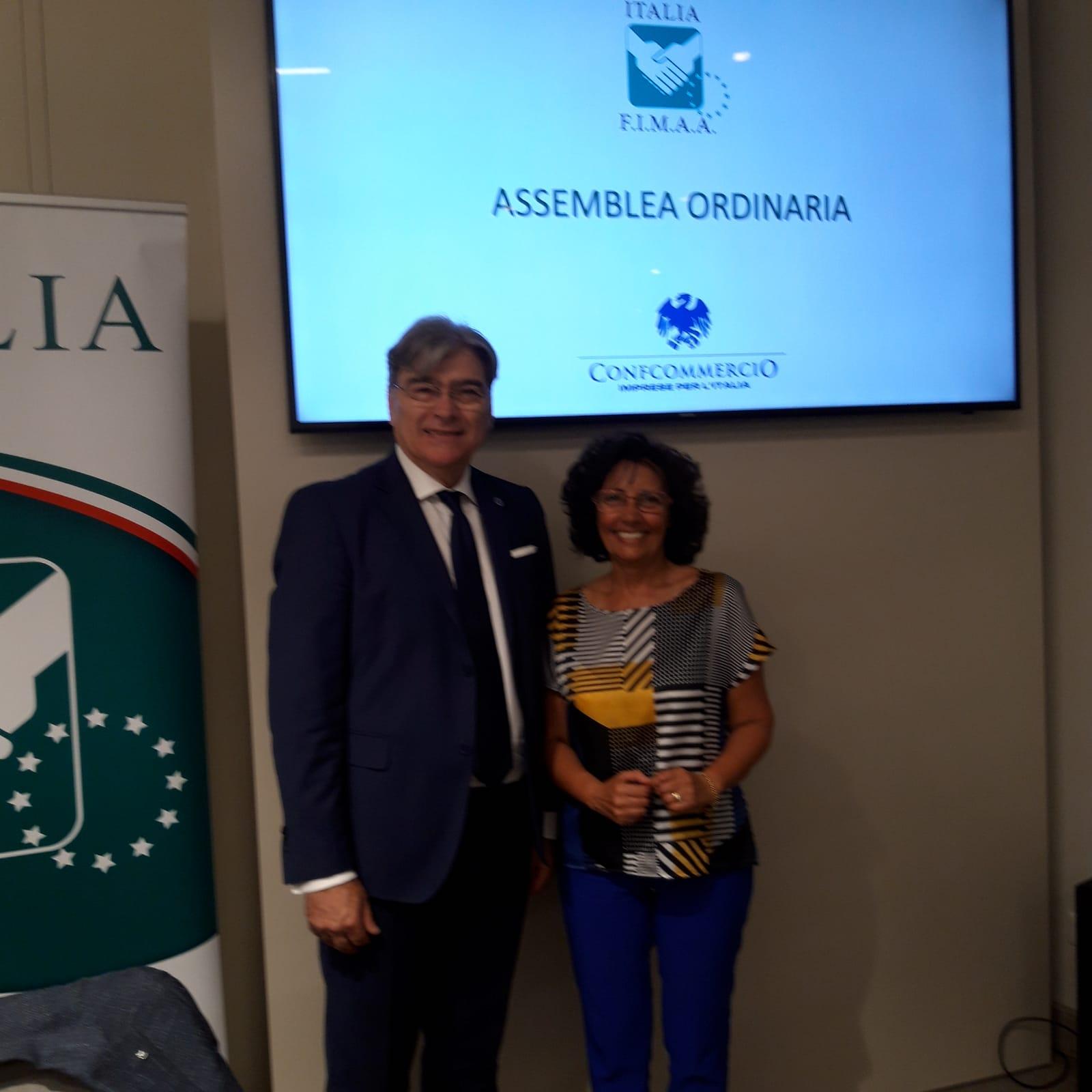 Dina D'Onofrio confermata al vertice della FIMAA Molise.
