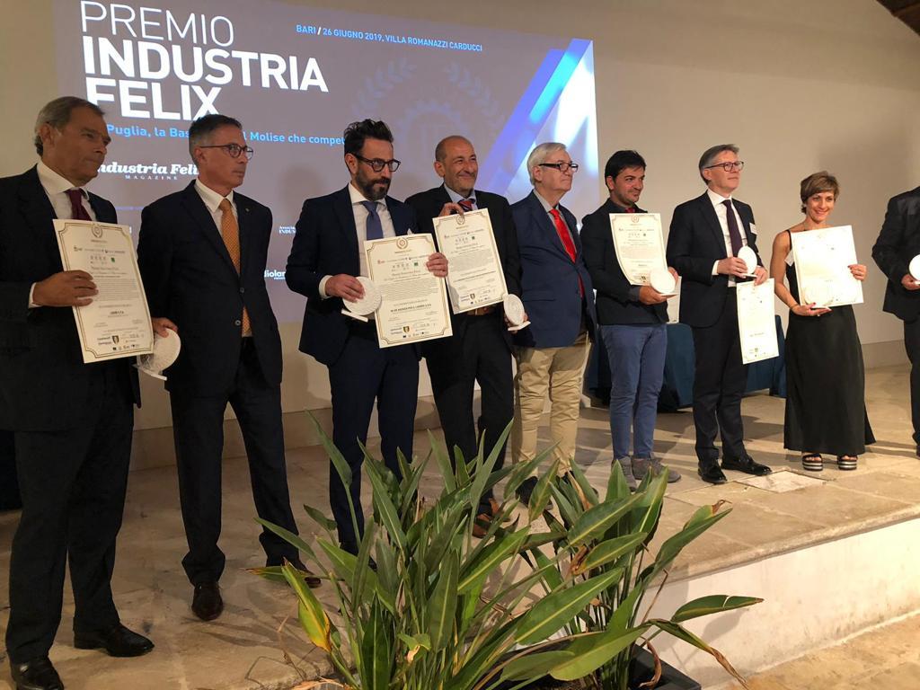 Alta Onorificenza per l'imprenditoria al C.U.S. di Domenico Mucci. L'industria Felix premia l'azienda molisane operante nel settore socio-sanitario e assistenziale.