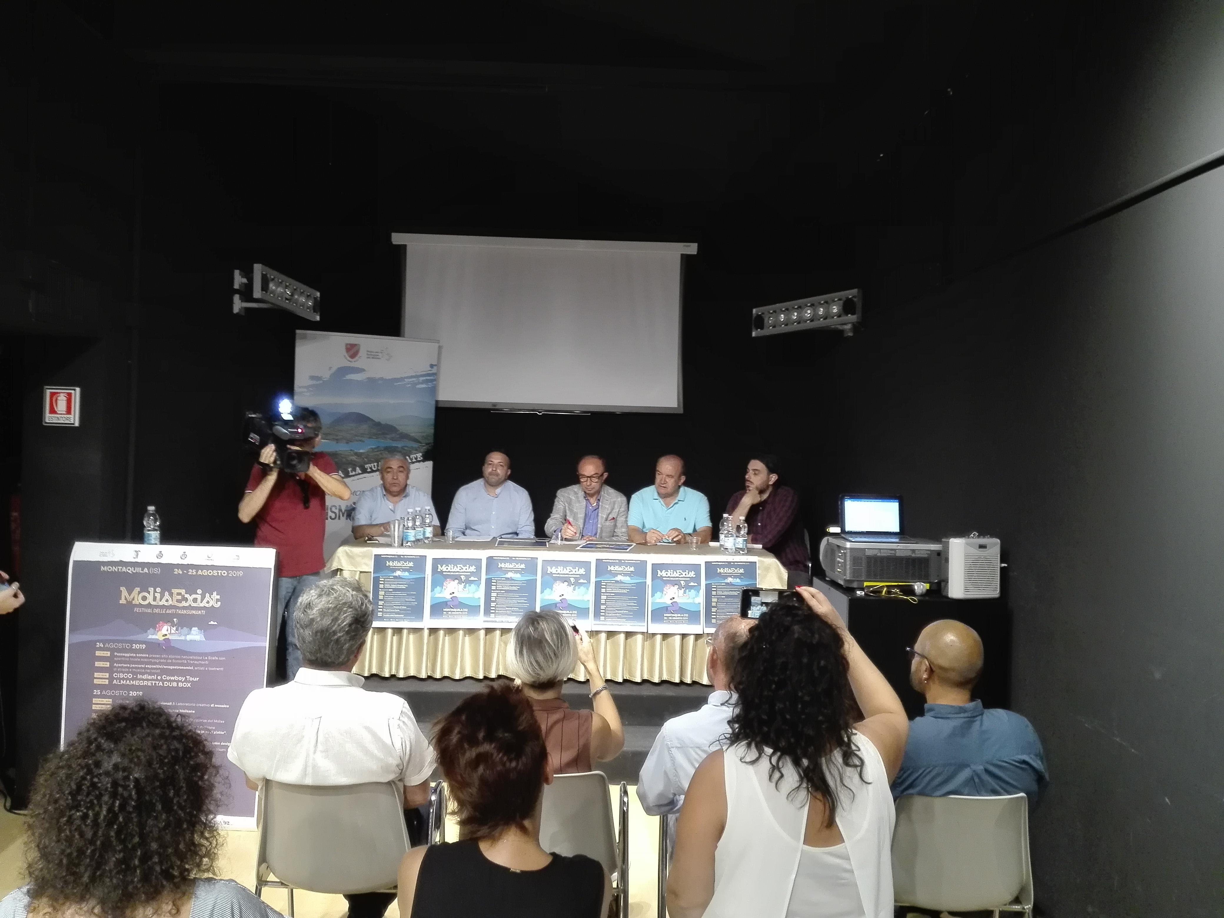 Montaquila: presentata l'edizione 2019 del MolisExist, due giorni per vivere il Molise che esiste.