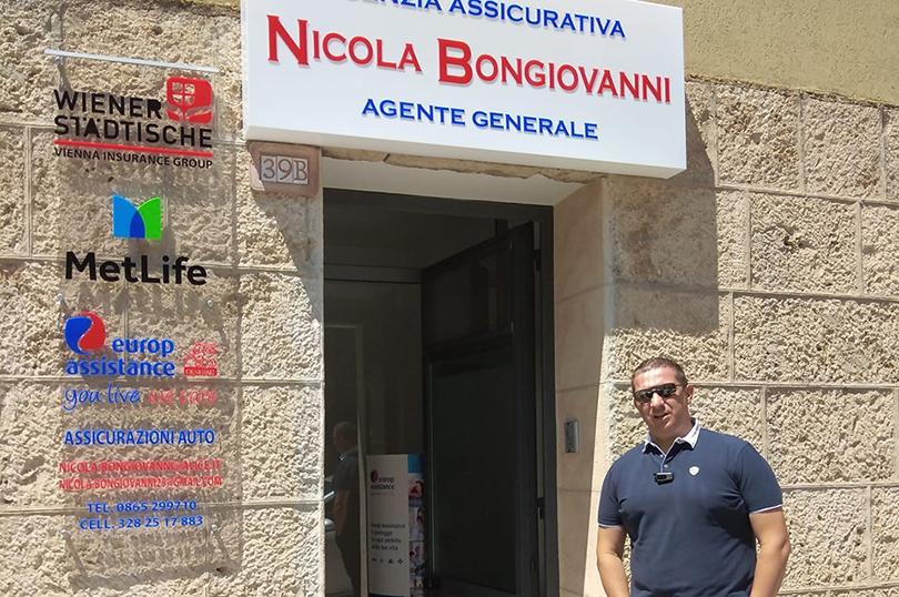 Isernia: nuova sede per l'Agenzia Assicurativa di Nicola Bongiovanni. L'apertura in via XXIV Maggio. Si cerca personale da formare.