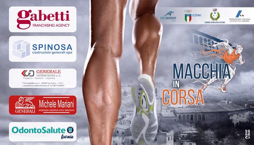 """Macchia d'Isernia: è tutto pronto per la gara podistica """"Macchia in Corsa"""" organizzata dalla """"Free Runners Isernia""""."""