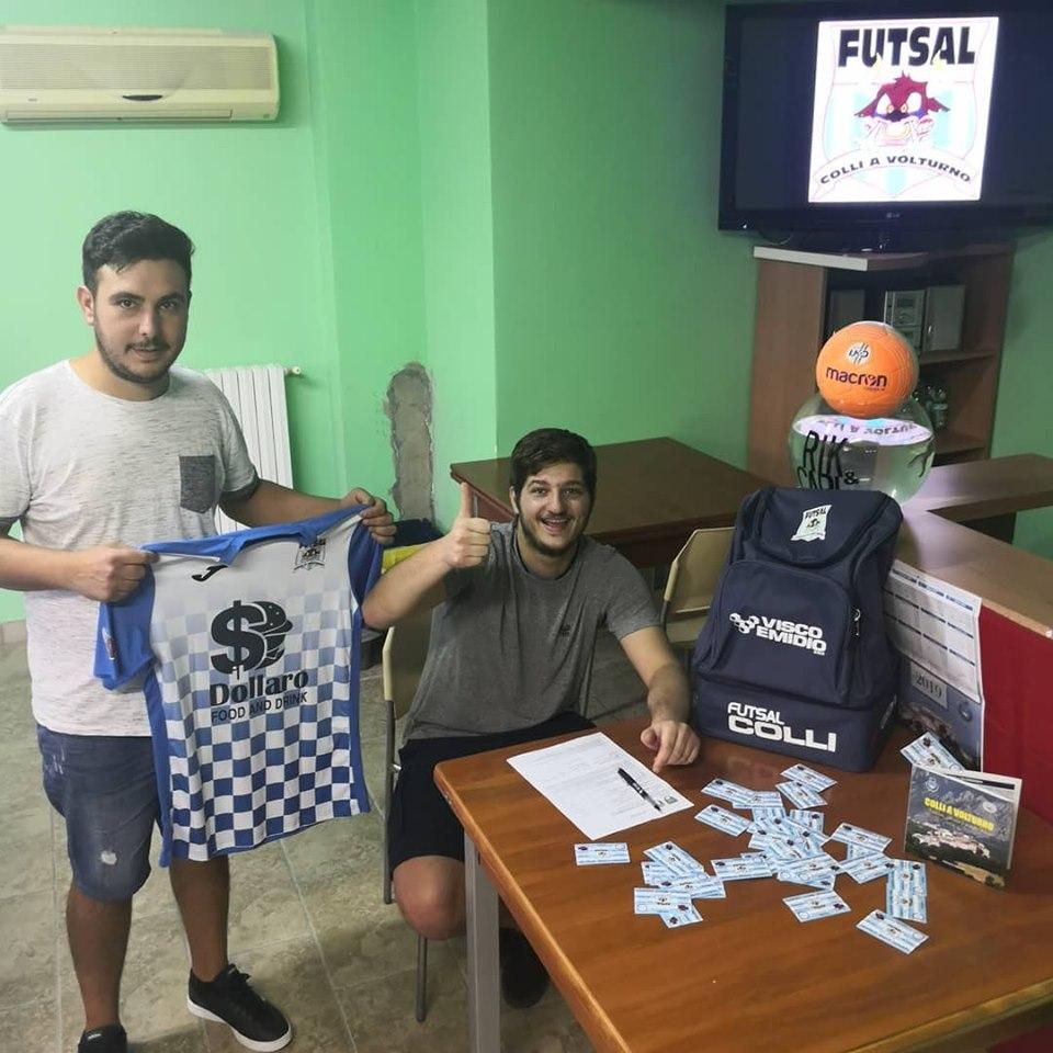 Calcio a 5: la Futsal Colli riparte da mister Faralli e annuncia tre colpi importanti. Presi Mancini , Laurelli e Petraroia.