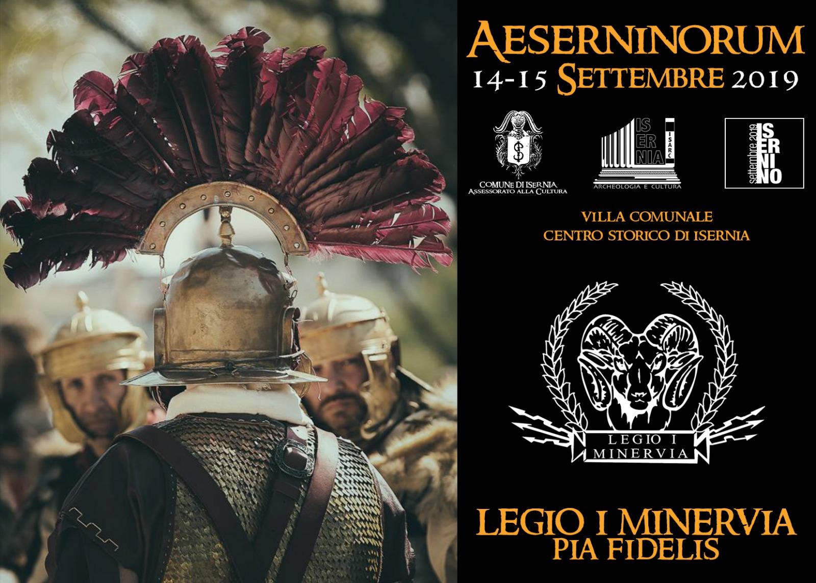 Aeserninorum edizione 2019, il programma ufficiale della manifestazione.