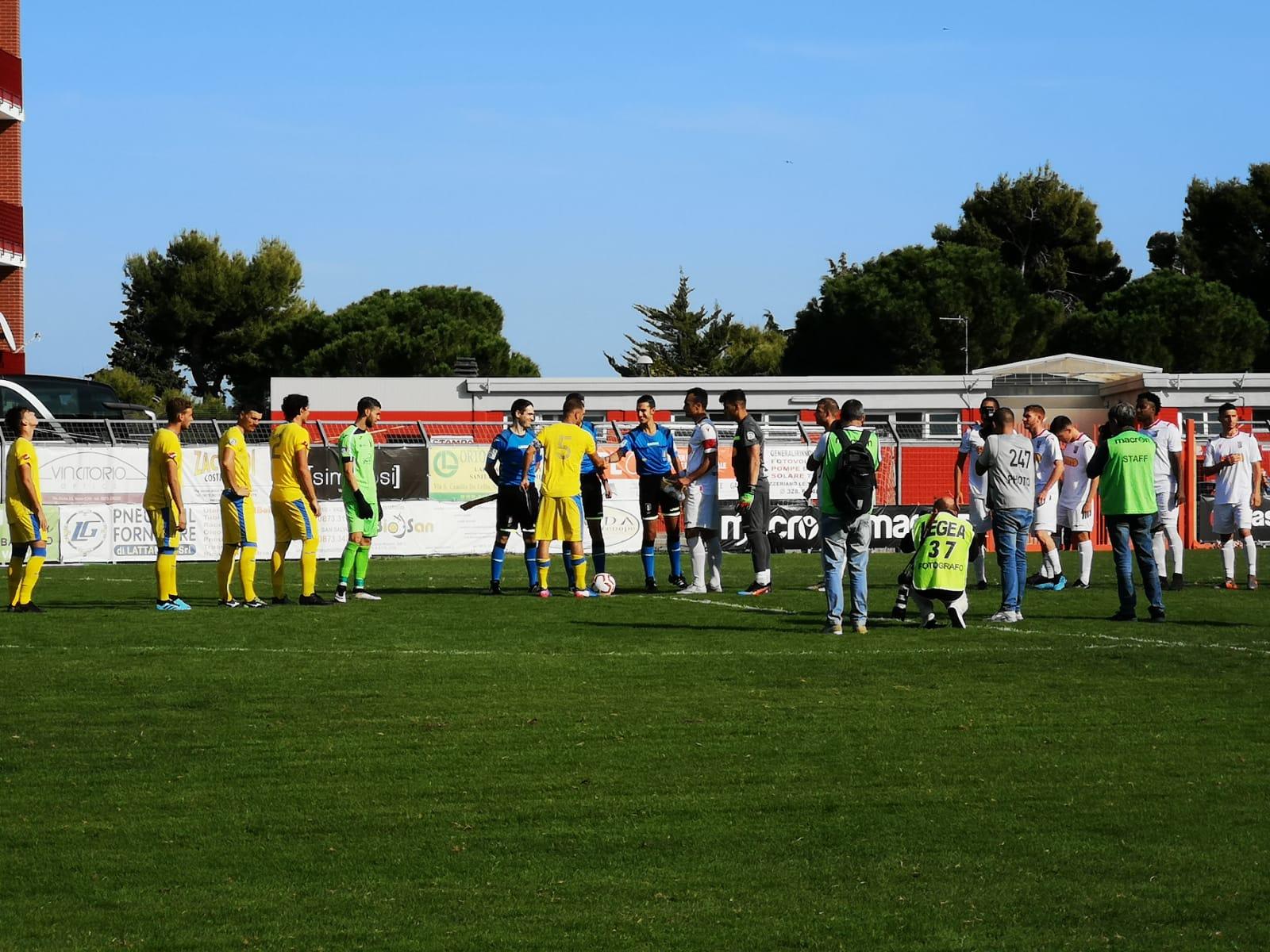 Serie D, girone F: Vastese -Vastogirardi 2-3. Impresa degli altomolisani. Kyeremateng ancora in rete.