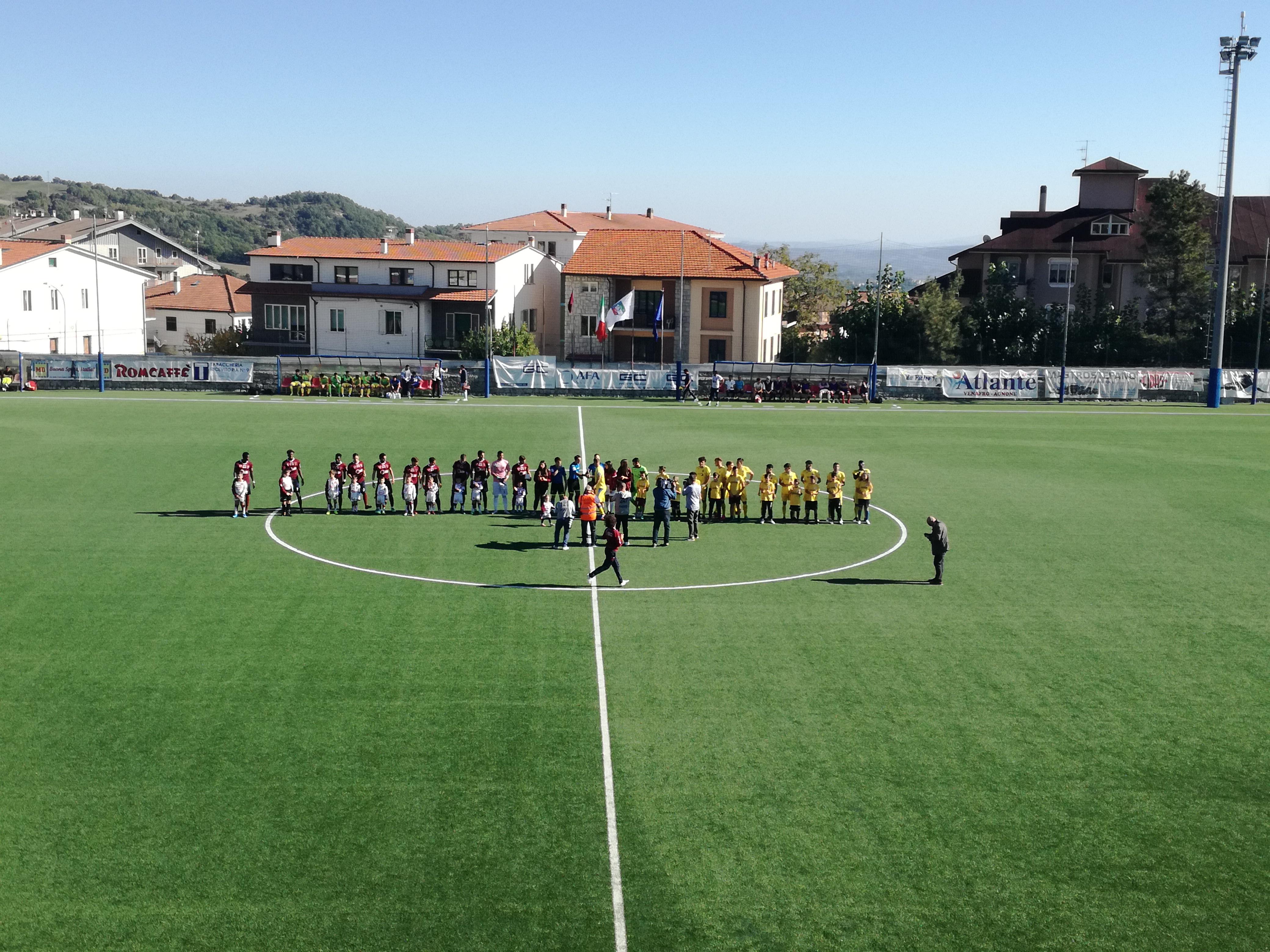 Serie D Girone F: Vastogirardi-Agnonese 1-2 , Viscovich impone la prima sconfitta a mister Farina