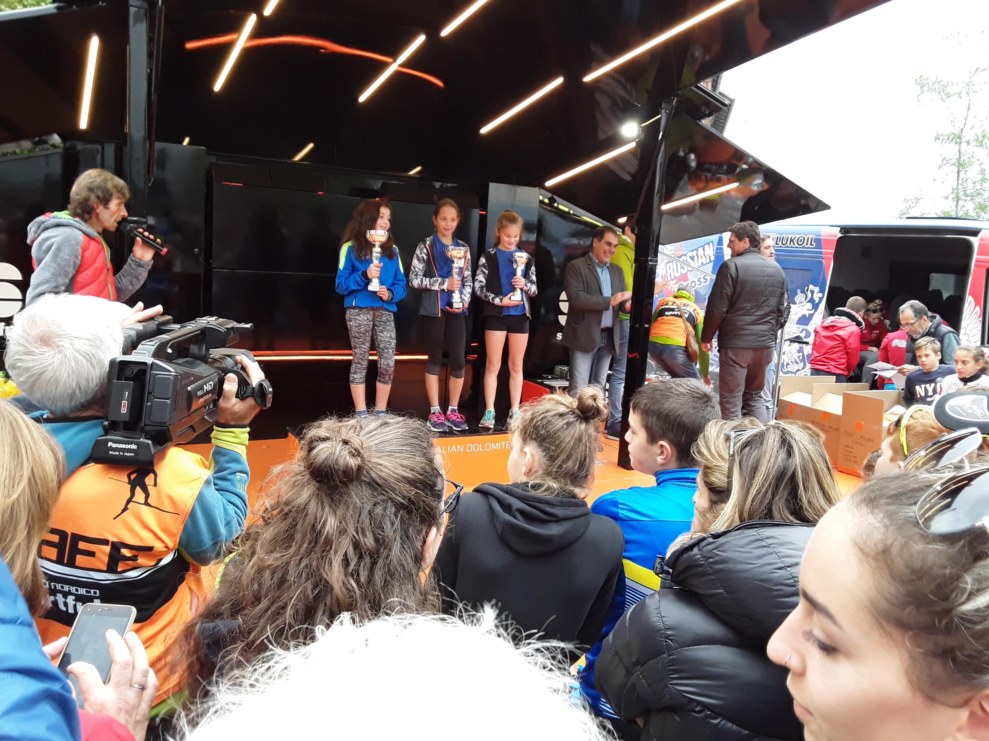 Sci Club Capracotta: Silvia Di Tanna è terza nella categoria under 10 femminile della Coppa Italia di Skiroll.