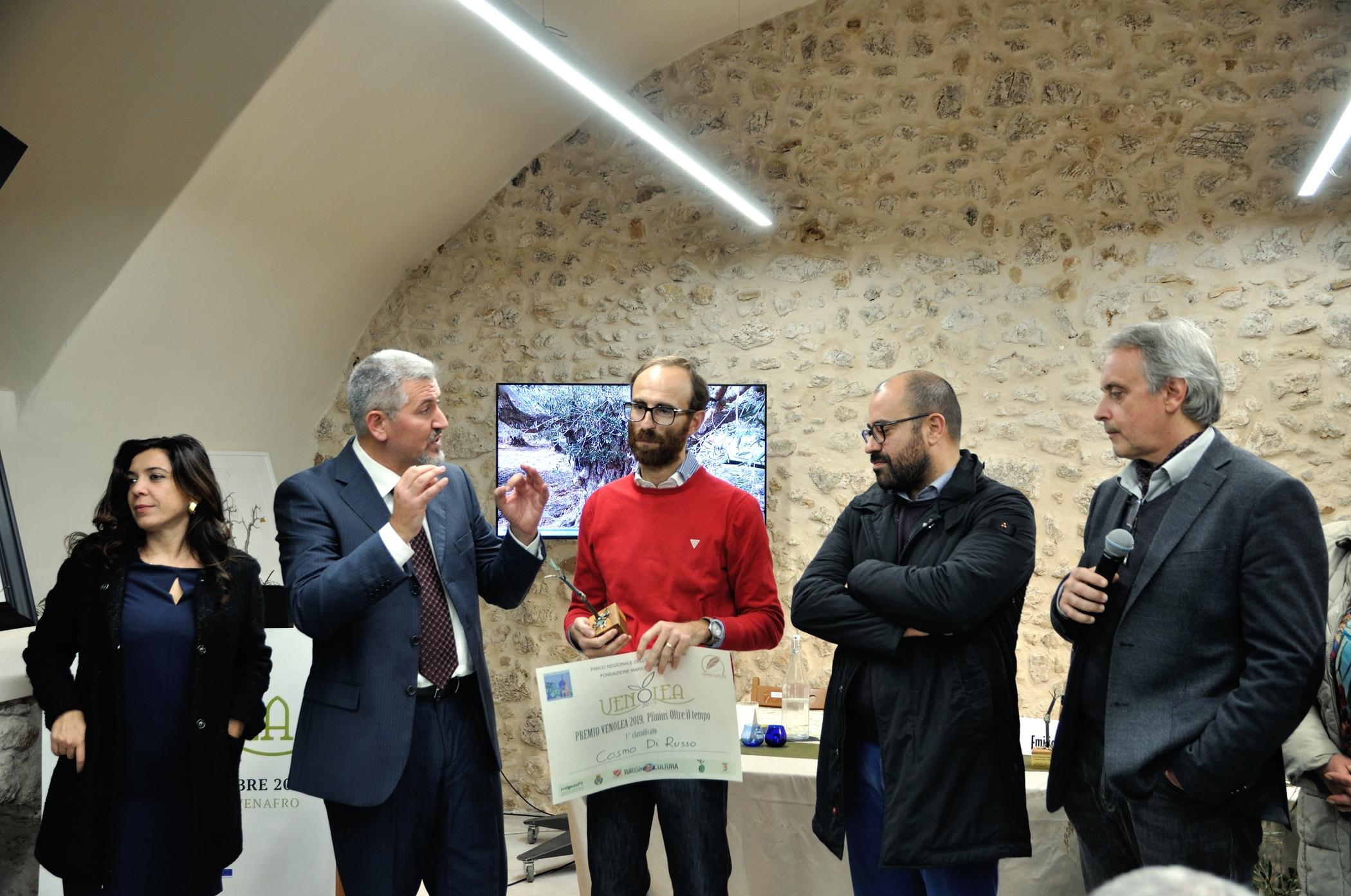 """Venafro: Successo per VENOLEA 2019 e per il Premio """"Plinius, Oltre il tempo"""""""