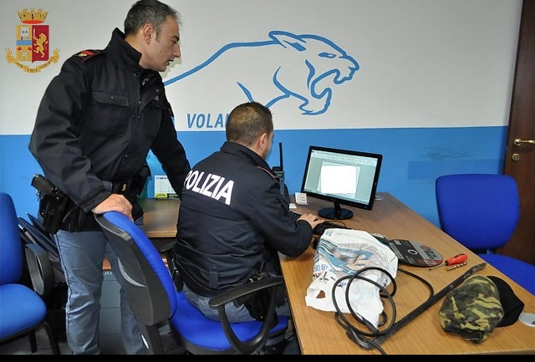 Isernia: la Polizia sventa un tentato furto in località Castagna. Guarda il video